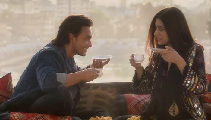 Loveratri stars Aayush Sharma and Warina Hussain look stunning on Filmfare cover—See pic