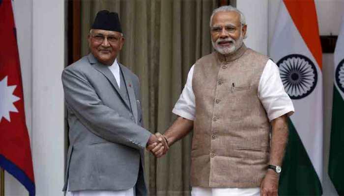 India, Nepal exchange MoU on Raxual-Kathmandu railway line as PM Narendra Modi meets Oli