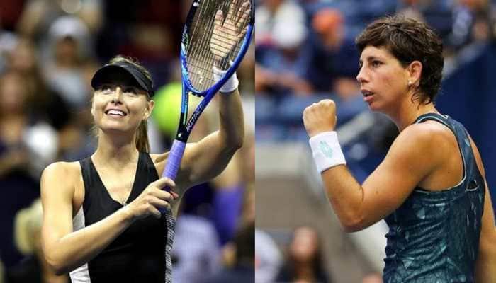 US Open 2018: Maria Sharapova's unbeaten run ends at the hands of Carla Suarez Navarro