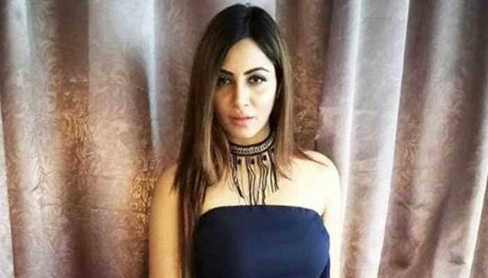 Bigg Boss 11 contestant Arshi Khan in a sheer saree is a sight to behold-See pic