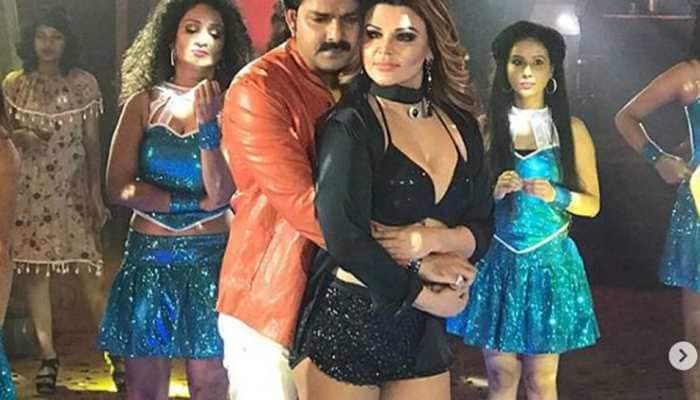 Rakhi Sawant's scintillating dance performance with Pawan Singh will blow your mind-Watch