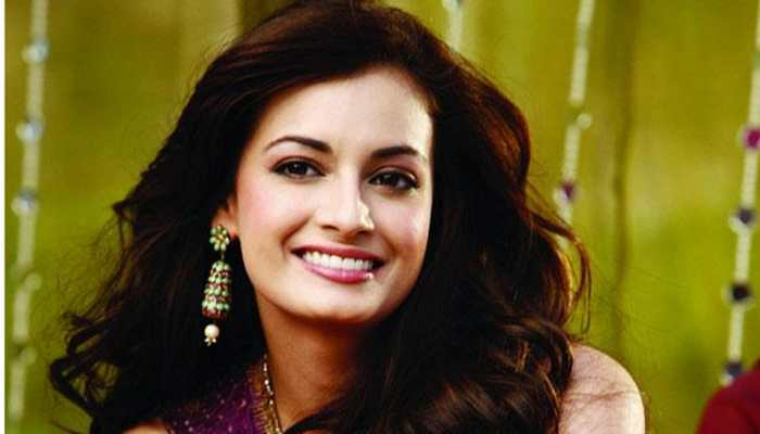 Actor Dia Mirza launches debut collection of poems