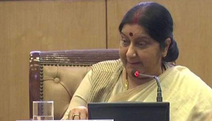 Sushma Swaraj's visit to Syria deferred due to prevailing tension