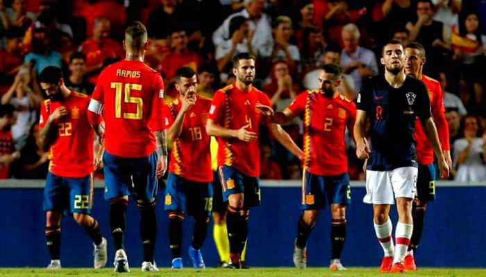 UEFA Nations League: Spain hand Croatia worst-ever defeat, maul World Cup runners-up 6-0