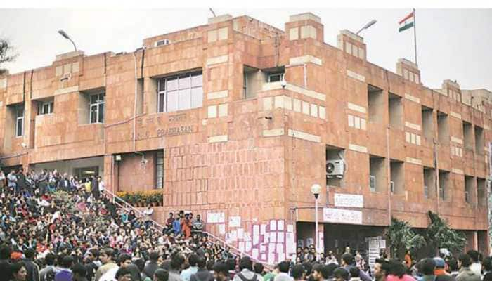 JNUSU polls 2018: Candidates fight it out at presidential debate