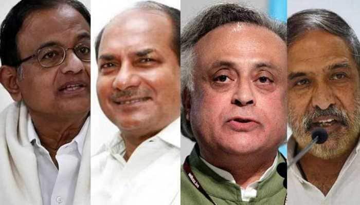 P Chidambaram, AK Antony, Jairam Ramesh and Anand Sharma in key Congress committees appointed by Rahul Gandhi