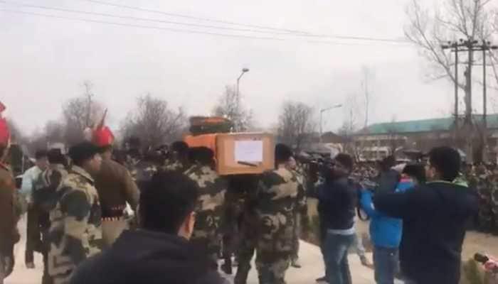 Anti-Pakistan slogans raised in Jammu against brutal killing of BSF jawan