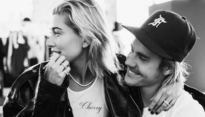 Justin Bieber, Hailey Baldwin share steamy kiss