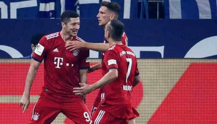 Bundesliga: James on target as Bayern ease past Schalke to make it four out of four