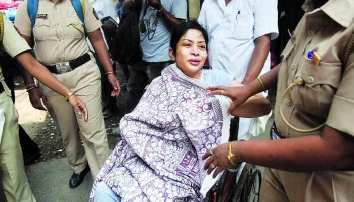 Indrani Mukerjea hospitalised after complaining of headache, double vision