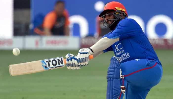 Afghanistan batsman Mohammad Shahzad hits century vs India, scores highest percentage of team runs