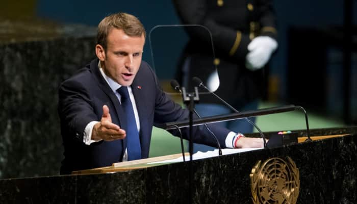 Wasn't in-charge: French President Macron on whether India asked France to sign Reliance for Rafale