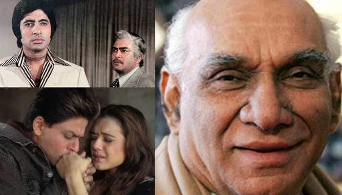 Yash Chopra birth anniversary special: Iconic films of the legend