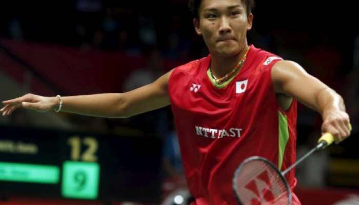 Badminton: Kento Momota becomes first Japanese man to top world rankings