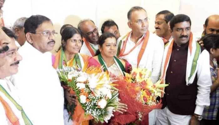 Congress-JDS wins BBMP polls, Gangambike Mallikarjun elected Bengaluru Mayor
