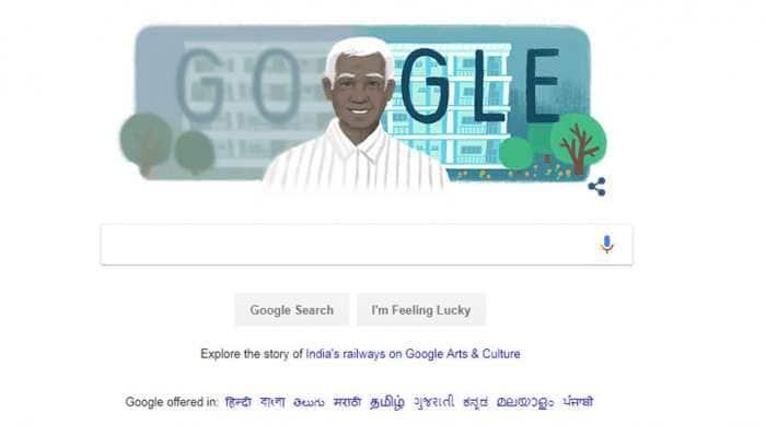 Google Doodle honours ophthalmologist Govindappa Venkataswamy