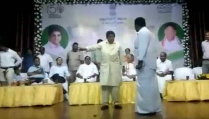 Kiran Bedi has big argument with Puducherry MLA on stage, video goes viral