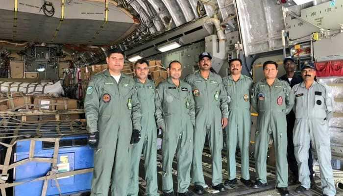 IAF embarks on disaster relief mission to earthquake-hit Indonesia