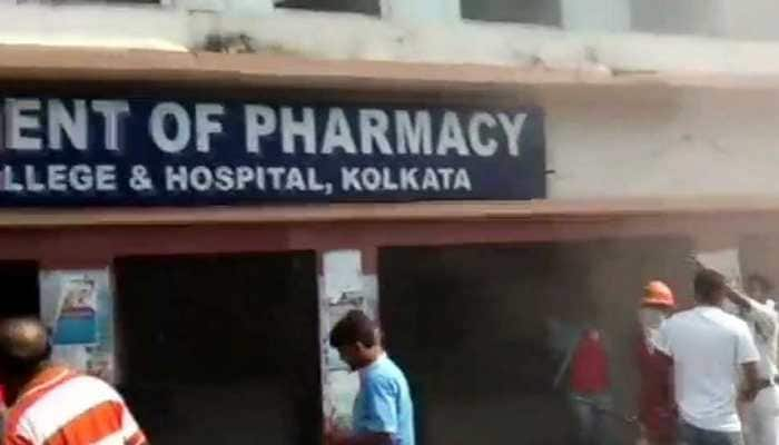Fire breaks out in Kolkata Medical College and Hospital, all patients safe