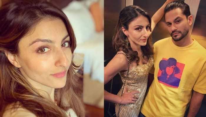 Soha Ali Khan celebrates birthday with glitz, glamour and cake!—Watch