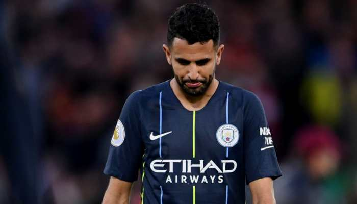 Manchester City's Riyad Mahrez misses late penalty in stalemate at Liverpool