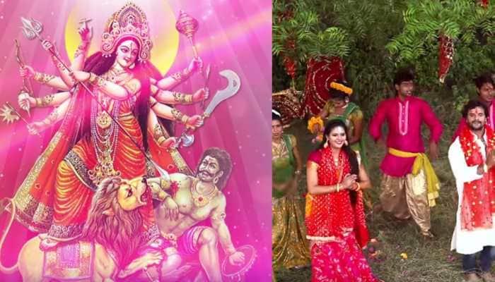 Khesari Lal Yadav's 'Navratri' song 'Nimiya Ke Chhanw Me' is out—Watch