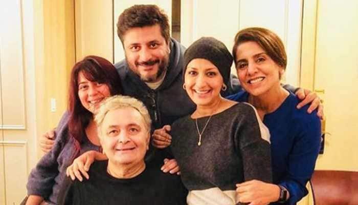 Sonali Bendre, Priyanka Chopra visit Rishi Kapoor and Neetu Kapoor in NYC—Check pics