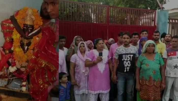 Dalit families in UP threaten conversion after permission denied to install idol in temple