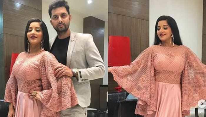 Monalisa's latest picture with husband Vikrant is straight out of fairytale-See pic