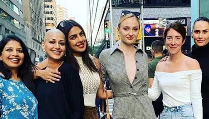Sonali Bendre, Priyanka Chopra and Sophie Turner enjoy a girls day out—Pic