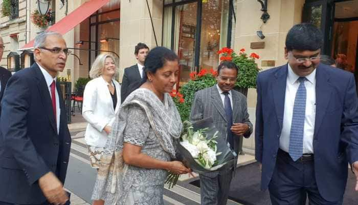 Defence Minister Nirmala Sitharaman holds talks in France amid mounting Rafale deal 'cover-up' allegations
