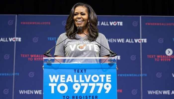 Michelle Obama backs #MeToo movement