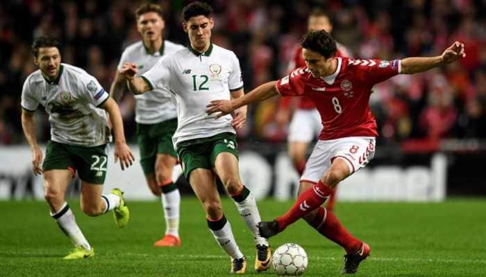 UEFA Nations League: Ireland frustrate dominant Denmark with Eriksen sidelined
