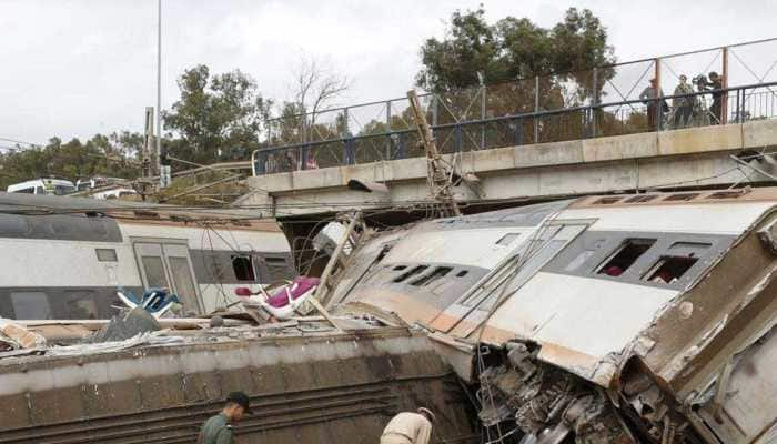 At least seven dead, 125 injured as train derails in Morocco