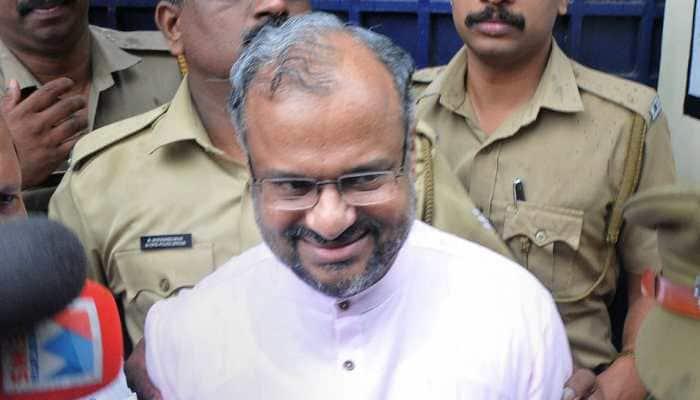 Supporters shower rose petals as rape accused Bishop arrives in Jalandhar
