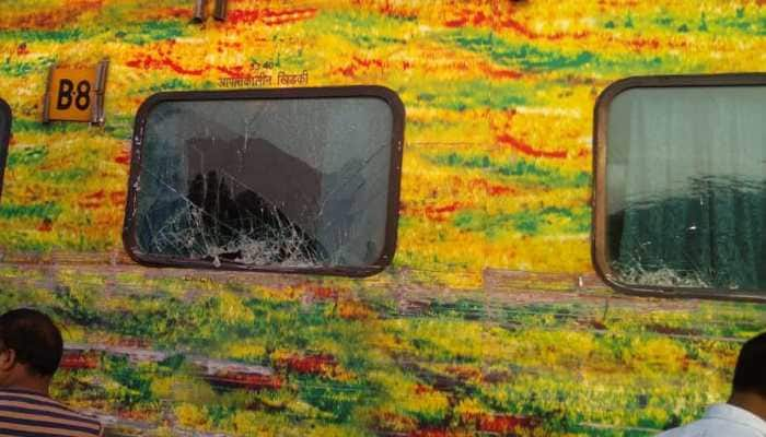Two coaches derail in Madhya Pradesh as truck hits Delhi-bound Rajdhani Express; vehicle driver killed