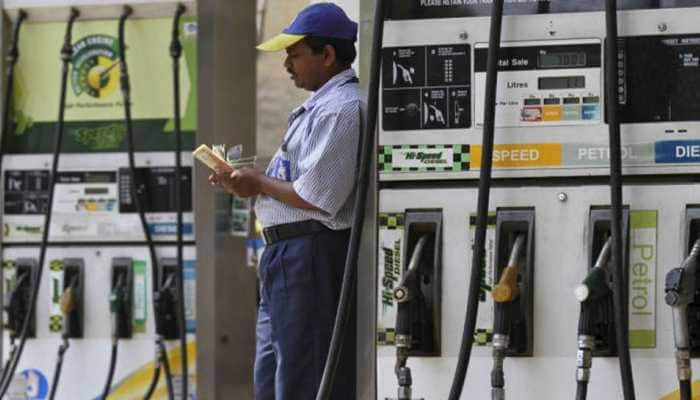 Fuel prices fall for third consecutive day; petrol in Delhi settles at Rs 81.99, diesel at Rs 79 in Mumbai