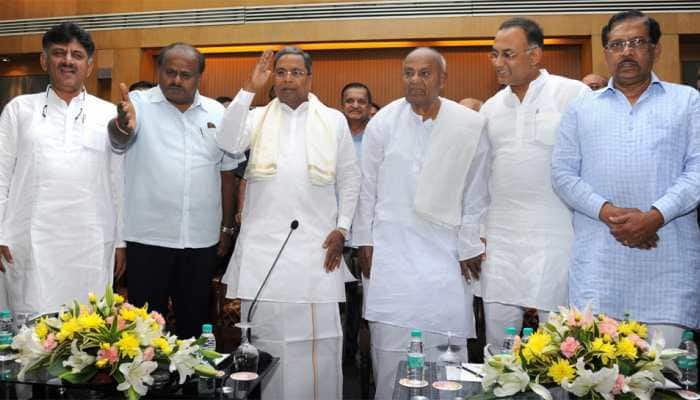 BJP our 'common enemy', declare Karnataka Congress and JDS leaders