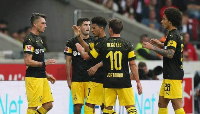 Bundesliga: Borussia Dortmund crush lowly Stuttgart to stay top