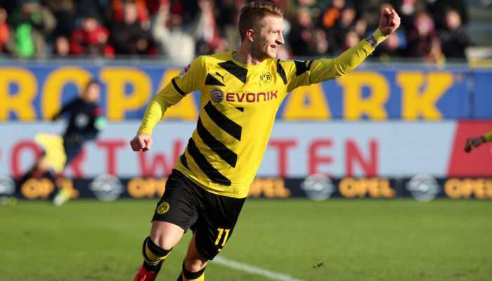 Borussia Dortmund forward Marco Reus predicts few scoring chances against Atletico Madrid
