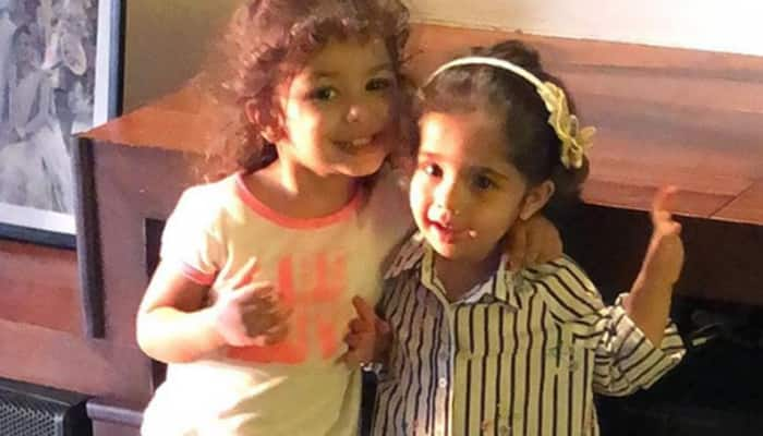 Mira Kapoor posts an adorable picture of little Misha and her bestfriend-See pic