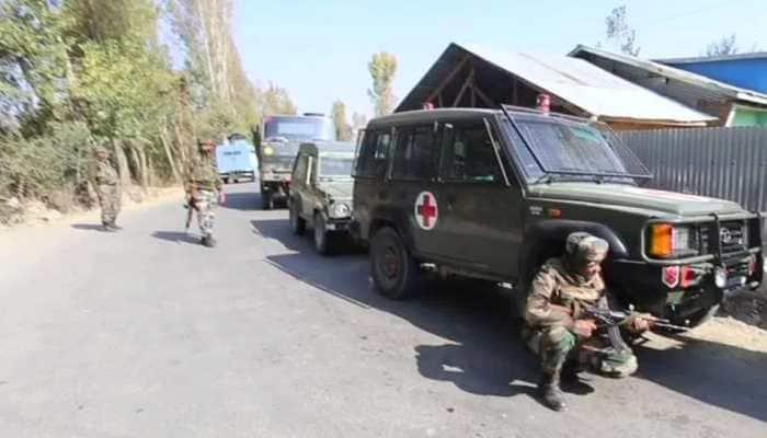 Jammu & Kashmir: Encounter underway between terrorists, security forces in Baramulla