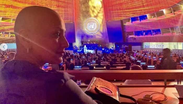 Sonali Bendre attends Amjad Ali Khan's concert, shares pic