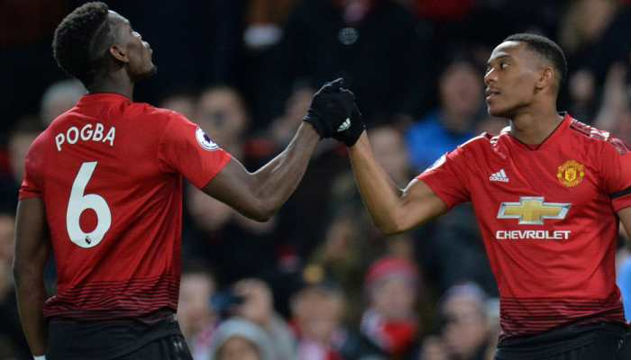 EPL: Paul Pogba, Anthony Martial earn Manchester United 2-1 win over Everton