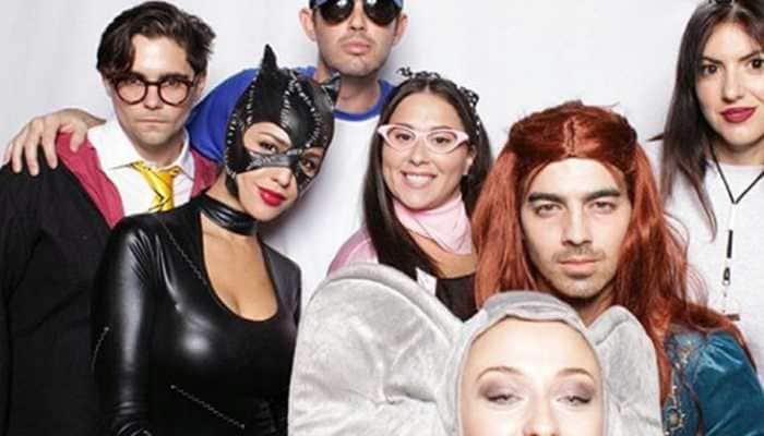 Joe Jonas dresses as Sophie Turner's GOT character Sansa Stark for Halloween