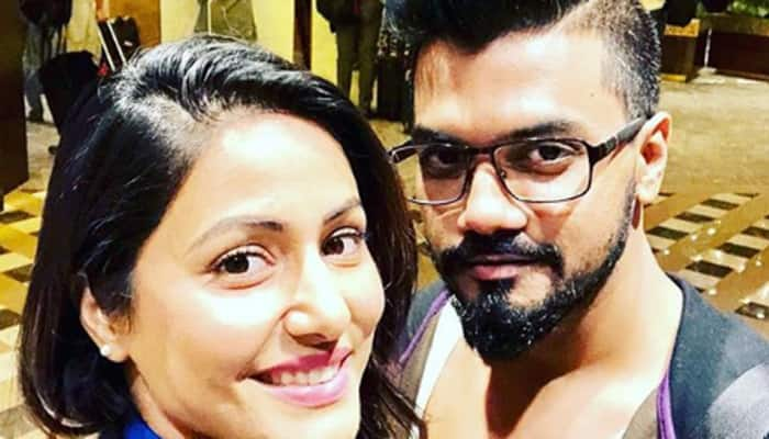 Rocky Jaiswal pens a heartwarming note for girlfriend Hina Khan after she bags the role of Komolika