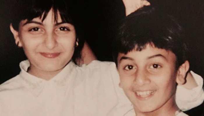 Riddhima Kapoor Sahni shares major throwback pic with daddy Rishi Kapoor and brother Ranbir