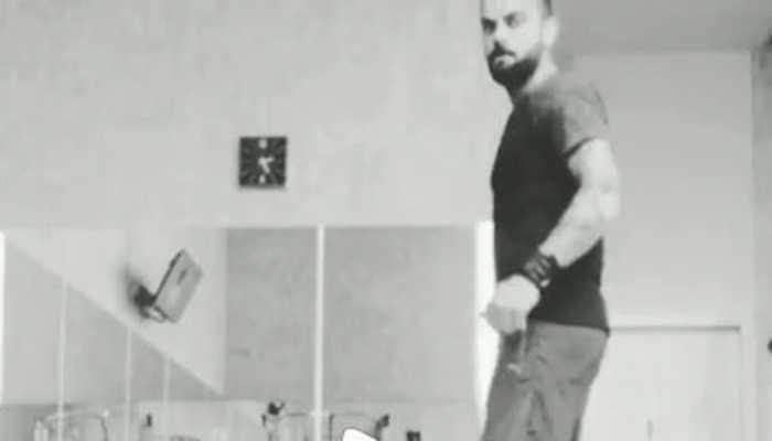 Virat Kohli's latest Insta video will give you major workout goals - Watch