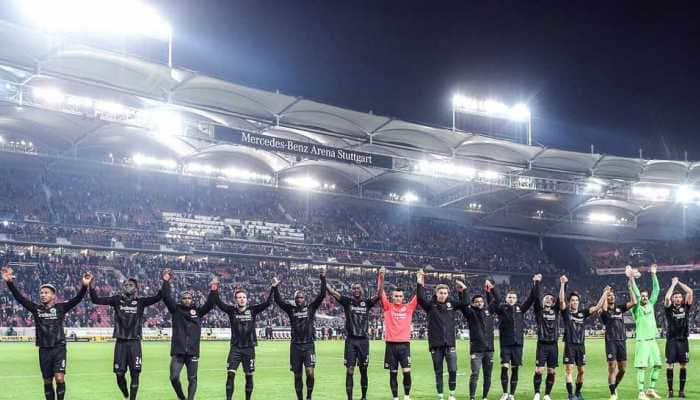 Bundesliga: Frankfurt go 3rd with 3-0 win over Stuttgart