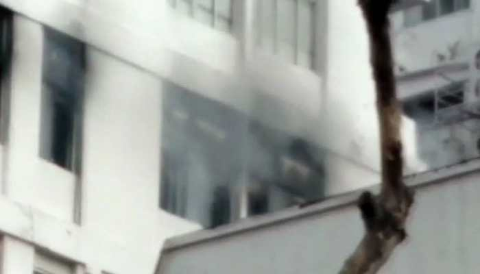Kolkata: Fire breaks out in high-rise office building on Park Street